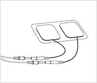 en svartvit illustration pa de circulators medfoljande elektroderna