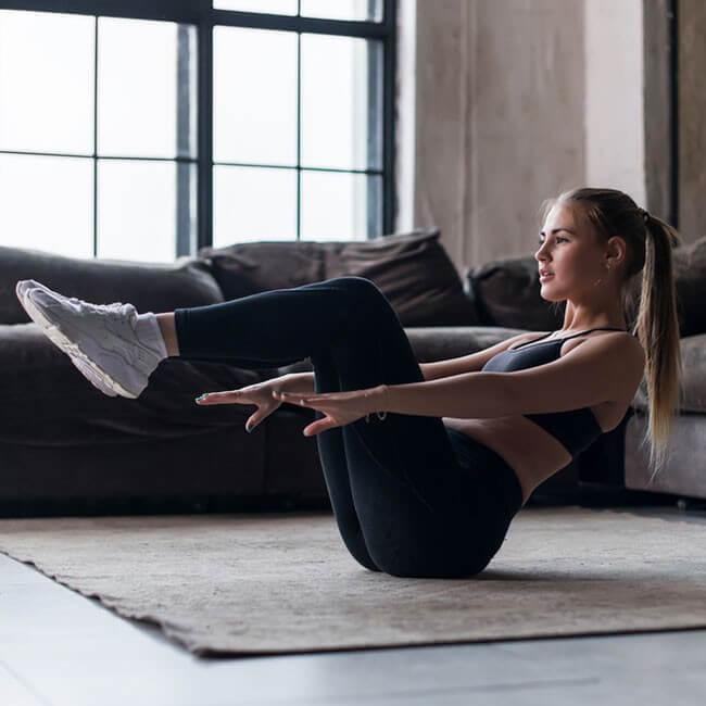 5 Övningar för träning hemma