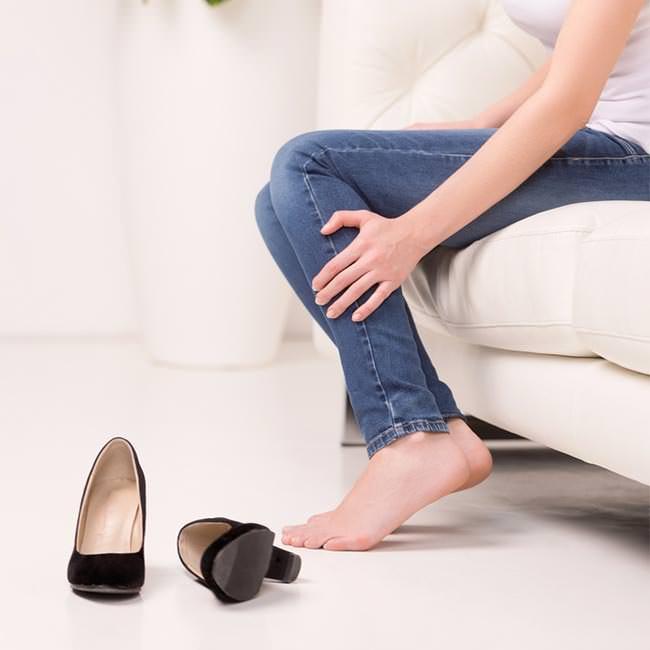 Behandlingar för trötta och värkande ben