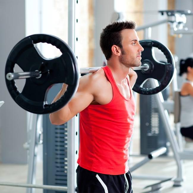 Uppnå muskelökning efter träning