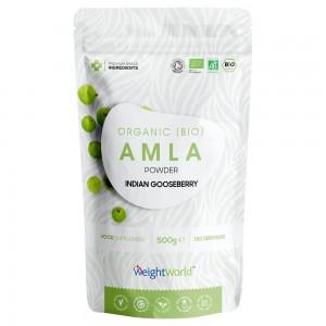 Bio Amla Pulver - Ekologiskt pulvertillskott för immunförsvaret, ansiktet & huden - 500 g