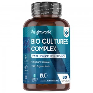 WeightWorld Bio Culture Complex 60 kapslar