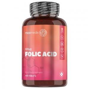 Folsyra (vitamin B9) tabletter