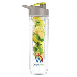 WeightWorld Fruit Infuser Bottle, BPA-Fri Vattenflaska