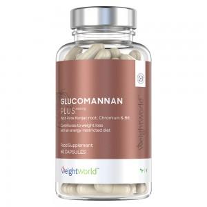 Glucomannan with Chromium and B6 Förpackning