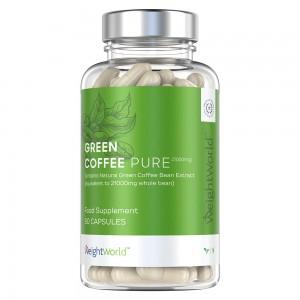 Green Coffee Pure, kosttillskott - förpackning