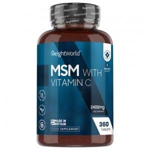 MSM tillskott med C-vitamin
