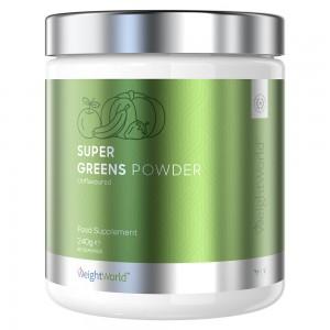 Super Greens Powder - En kraftfull växt-baserade pulver-för viktkontroll och vitalitet - WeightWorld - 240g