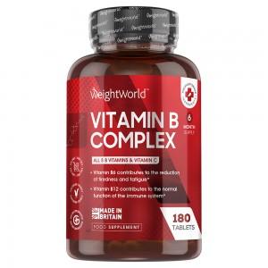 Vitamin B Complex | Naturligt kosttillskott för kroppsligt välmående