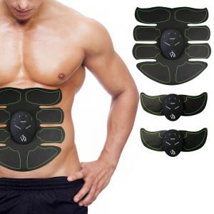 8 Pad Abs Stimulator - vibrerande mag enhet för muskelstyrka