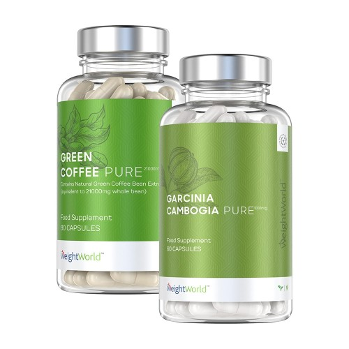 Green Coffee Pure and Garcinia Cambogia Pure