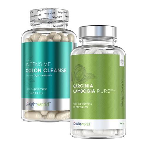 Garcinia Cambogia Pure and MaxMedix Intensive Colon Cleanse