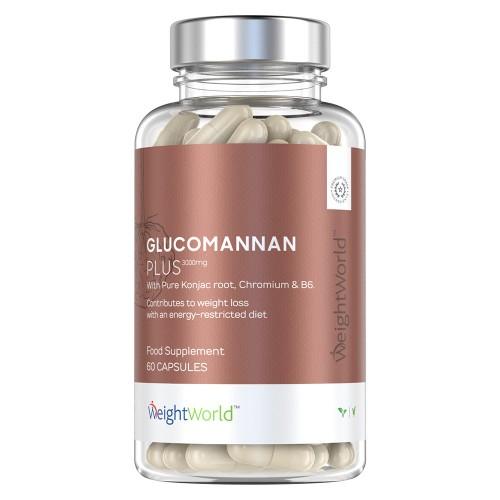 Glucomannan with Chromium and B6