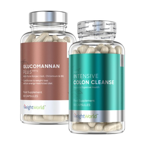 Glucomannan Plus + Colon Cleanse