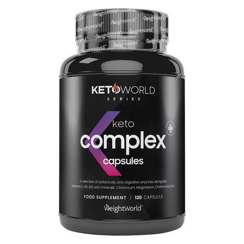 Keto Complex Kapslar - Optimalt tillskott för Keto dieten - Naturligt energidrivande för att uppnå ketos - Ketogent kosttillskott