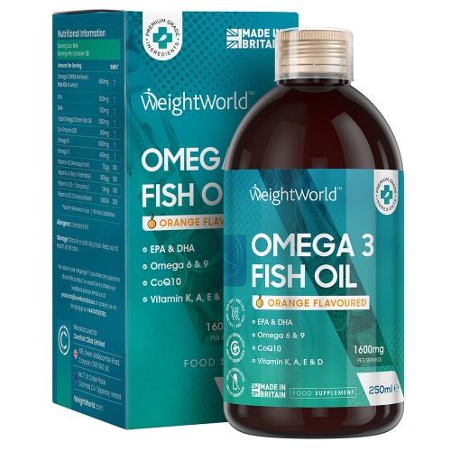 Omega 3 Fiskolja - Bästa Flytande