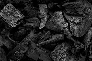 svart kol